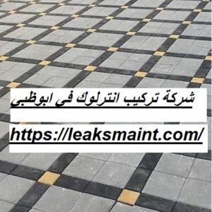 شركة تركيب انترلوك في ابوظبي